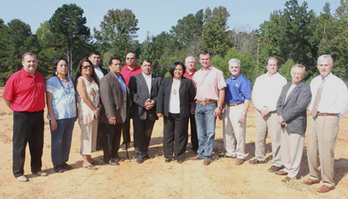 Mississippi Band of Choctaw Indians Groundbreaking