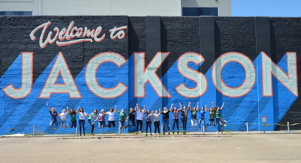Welcome to Jackson - Mural