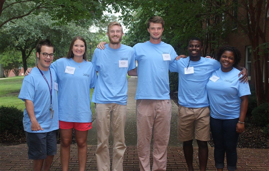New South Hall and Wellspring Staff - Millsaps College