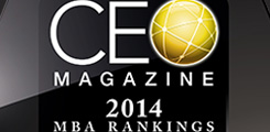 CEO Magazine 2014 MBA Rankings