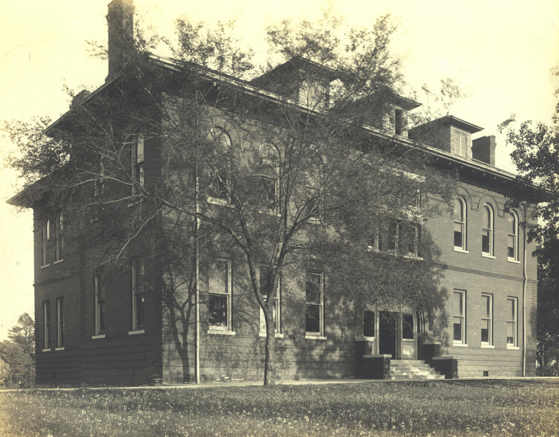 Webster Science Hall in 1912