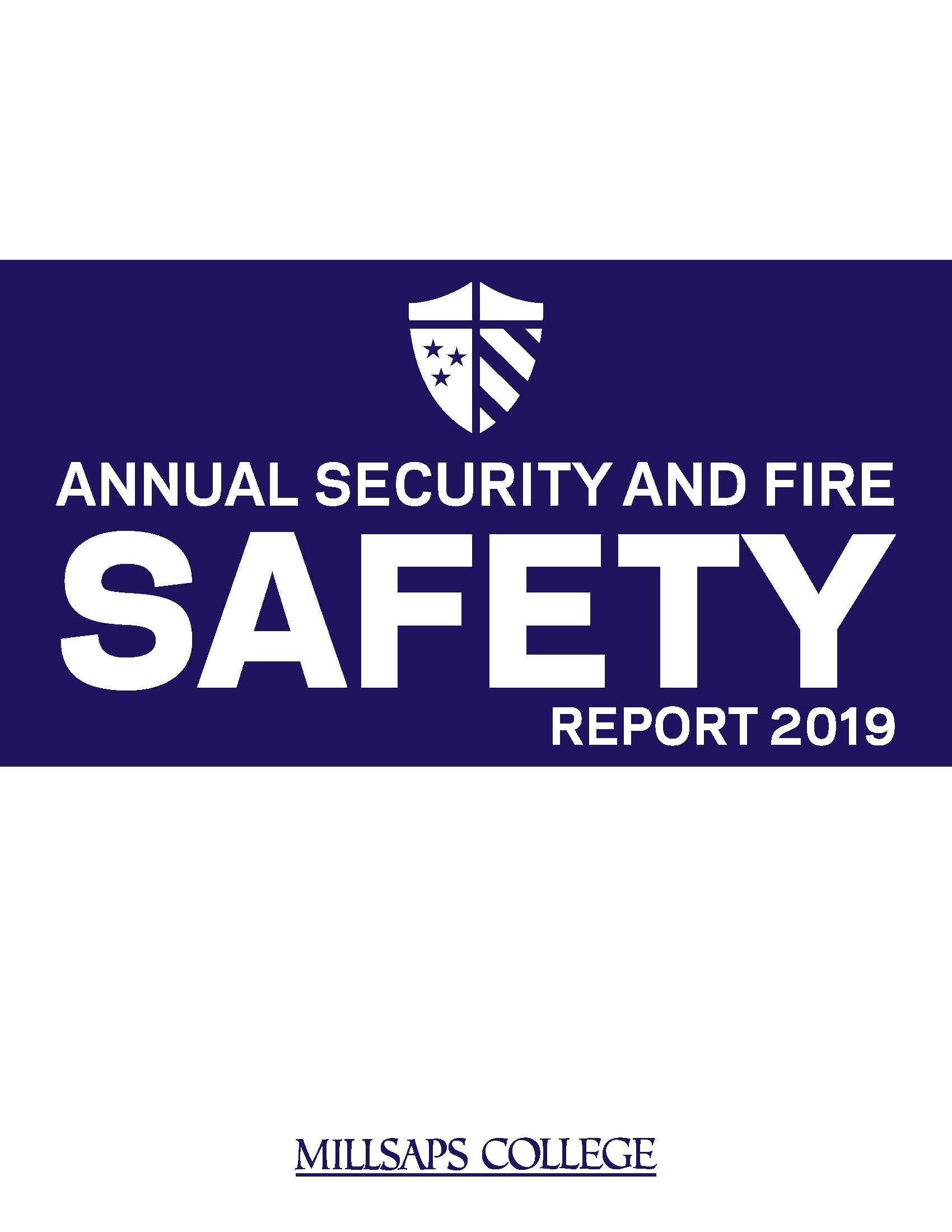 2019-2020 Annual Security and Fire Safety Report